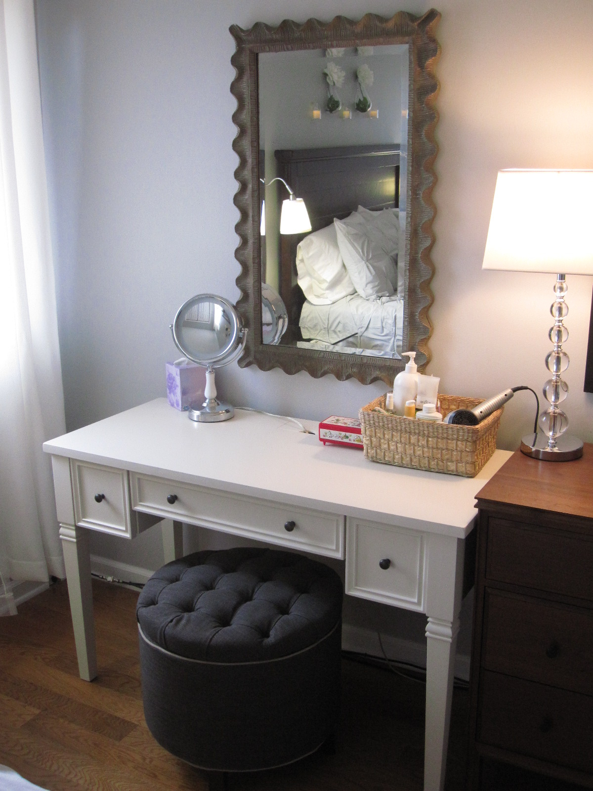 Fox design master bedroom old city philadelphia Vanity for master bedroom